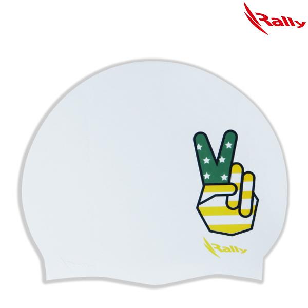 KRUC105-WHT 랠리 RALLY 실리콘 수모 수영모