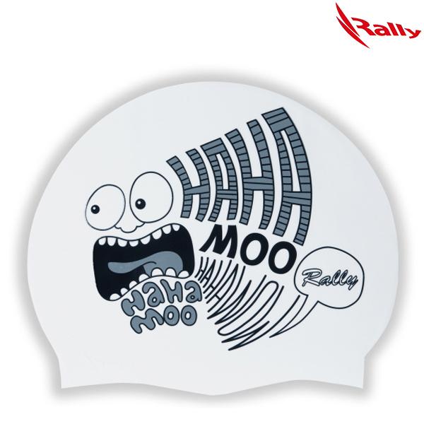 KRUC107-WHT 랠리 RALLY 실리콘 수모 수영모