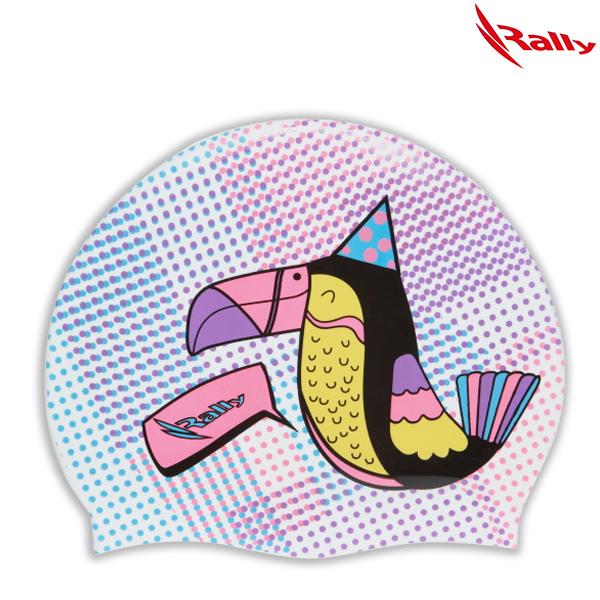 KRUC109-WHT 랠리 RALLY 실리콘 수모 수영모