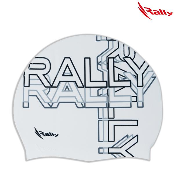 KRUC115-WHT 랠리 RALLY 실리콘 수모 수영모