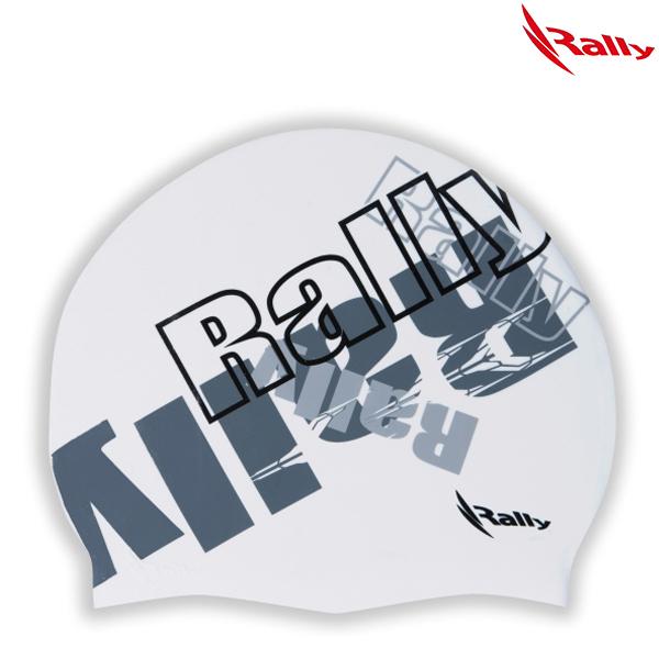 KRUC116-WHT 랠리 RALLY 실리콘 수모 수영모