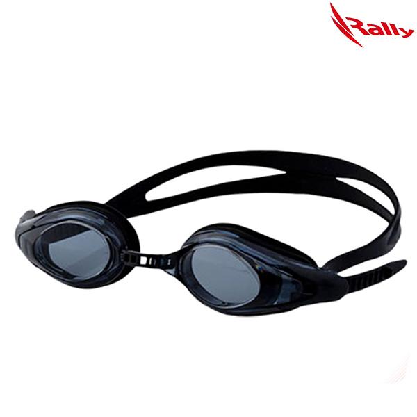 KRUE428-BLACK 랠리 RALLY 패킹 수경 수영용품
