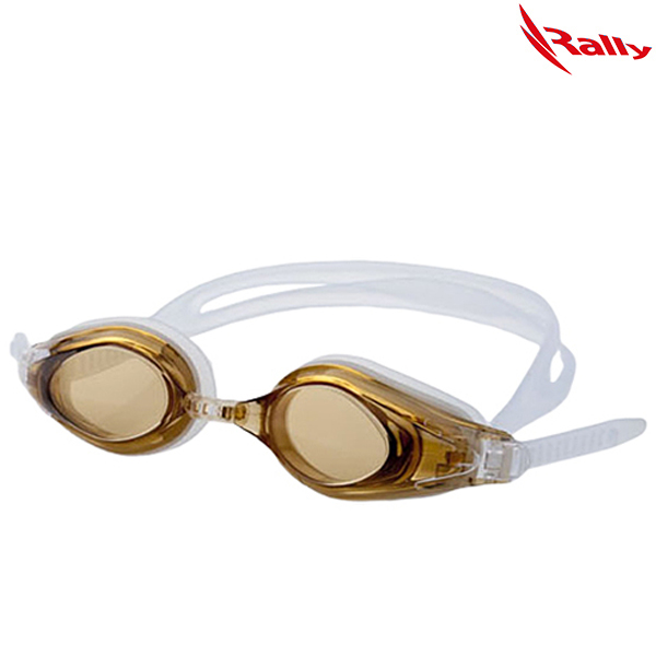 KRUE428-BROWN 랠리 RALLY 패킹 수경 수영용품
