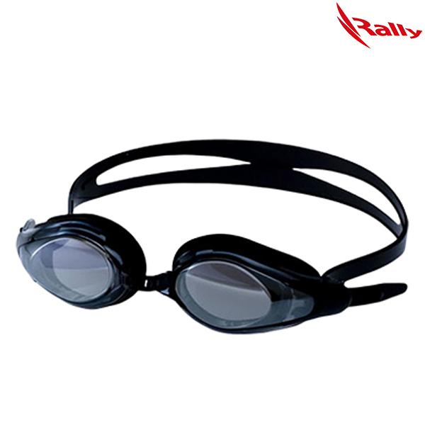 KRUE428MR-BLACK 랠리 RALLY 패킹 미러 수경 수영용품