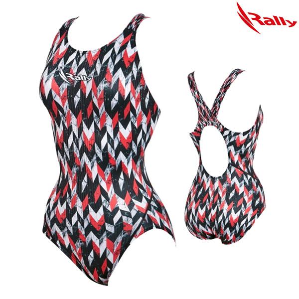 KSLA902-RED 랠리 RALLY 여성 원피스 수영복