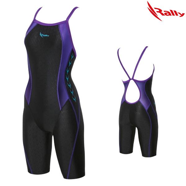 KSLH877-PUR 랠리 RALLY 여성 반전신 수영복