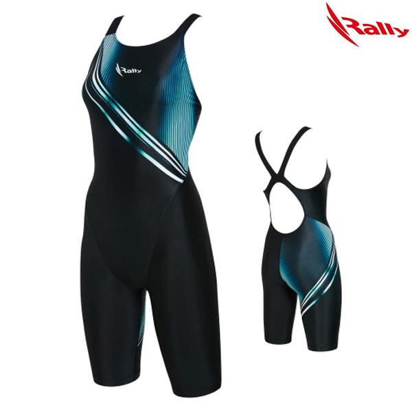 KSLH882-BLK 랠리 RALLY 여성 반전신 수영복