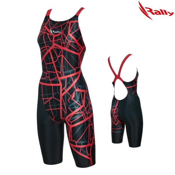 KSLH883-RED 랠리 RALLY 여성 반전신 수영복