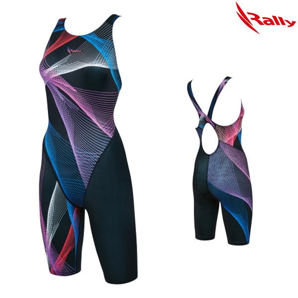 KSLH885-BLK 랠리 RALLY 여성 반전신 수영복
