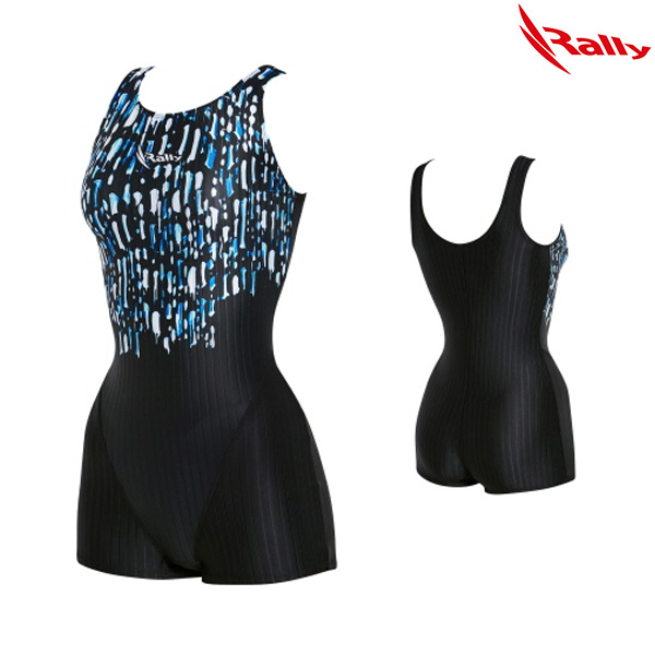 KSLH944-BLU 랠리 RALLY 여성 1부 수영복