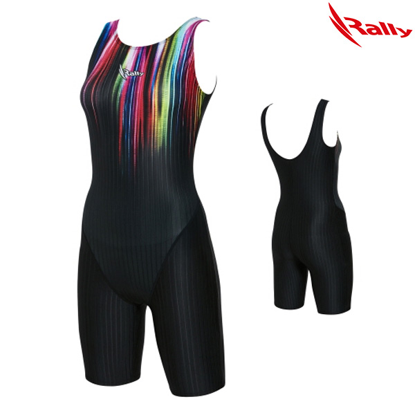 KSLH955-BLK 랠리 RALLY 여성 반전신 수영복