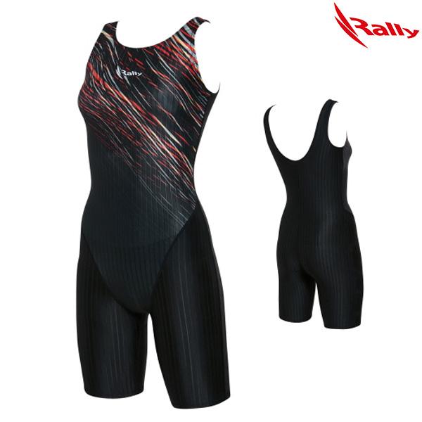 KSLH956-BLK 랠리 RALLY 여성 반전신 수영복
