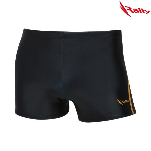 KSMQ002-BLK 랠리 RALLY 남성 사각 수영복