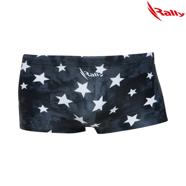 KSMR113-BLK 랠리 RALLY 남성 숏사각 탄탄이 수영복