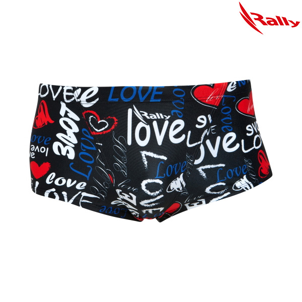 KSMR985-BLK 랠리 RALLY 남성 숏사각 탄탄이 수영복