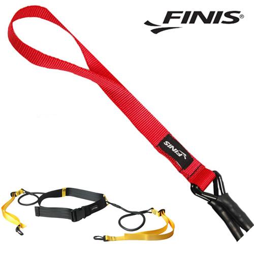 FINIS 레인벨트 코드(RED-고등학생~성인) 피니스 훈련용품