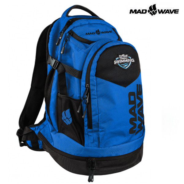 LANE-BLUE MAD WAVE 가방 백팩 수영용품