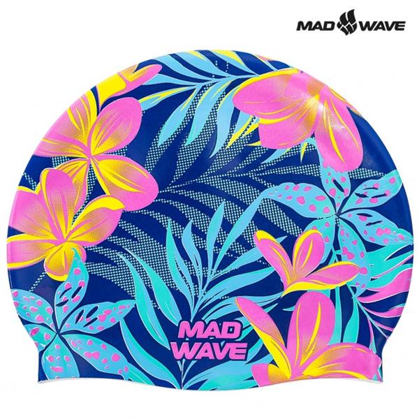 LAOS-BLUE MAD WAVE 실리콘 수모 수영모