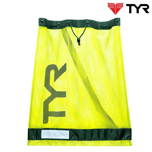 LBD2(FL.YELLOW) TYR 티어 메쉬 가방 메쉬백 수영용품 망사가방