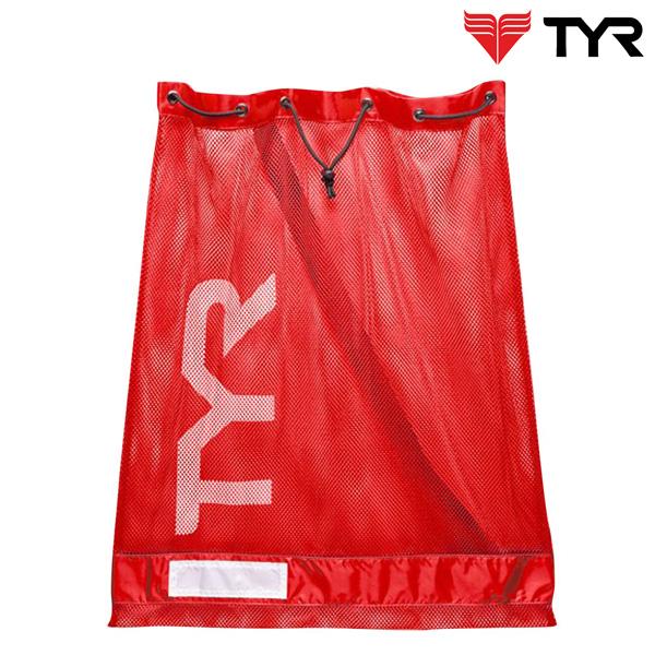 LBD2(RED) TYR 티어 메쉬 가방 메쉬백 수영용품 망사가방
