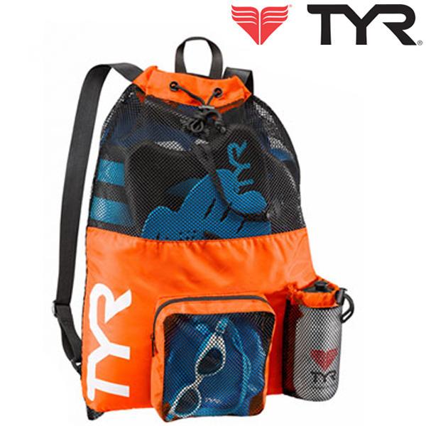 LBMMB3[ORANGE] TYR 티어 매쉬 백팩 가방