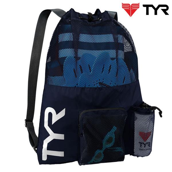 LBMMB3(NAVY) TYR 티어 매쉬 백팩 가방
