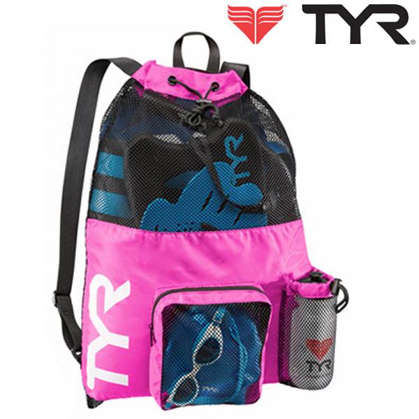 LBMMB3[PINK] TYR 티어 매쉬 백팩 가방