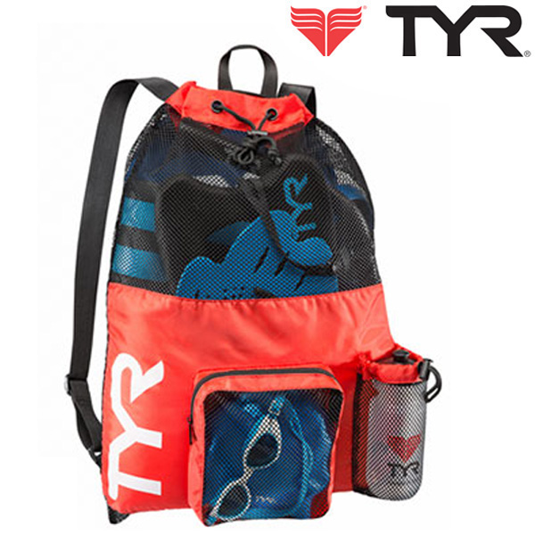 LBMMB3[RED] TYR 티어 매쉬 백팩 가방