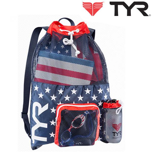 LBMMB3[RED/NAVY] TYR 티어 매쉬 백팩 가방