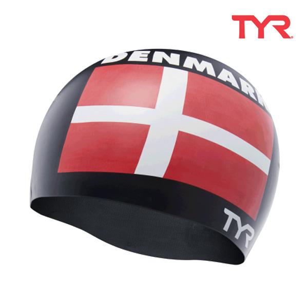 LCSDEN BLACK 티어 TYR 덴마크 실리콘 수모 수영모
