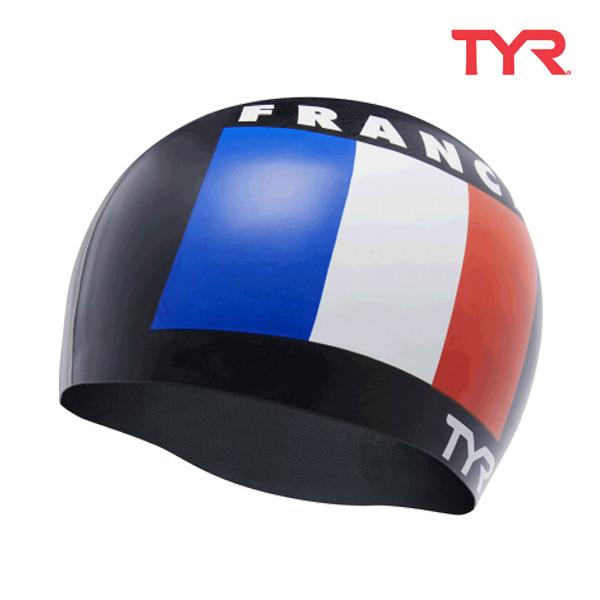 LCSFRA BLACK 티어 TYR 프랑스 실리콘 수모 수영모