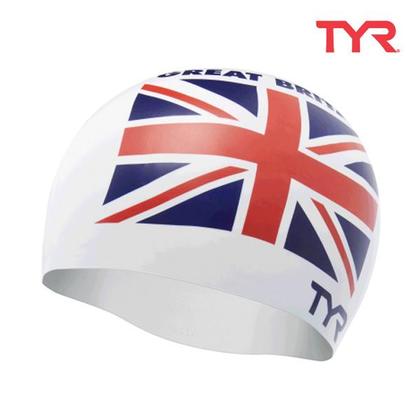 LCSGB WHITE 티어 TYR 영국 실리콘 수모 수영모
