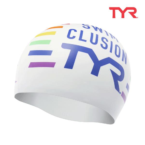 LCSSWCL WHTMLT 티어 TYR 실리콘 수모 수영모