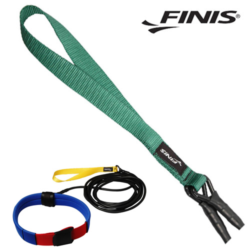 FINIS 롱벨트 코드(GRN-중학생) 피니스 훈련용품