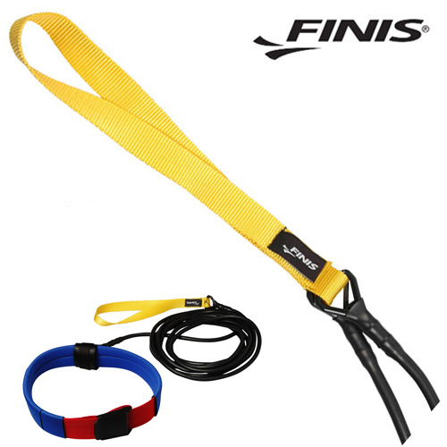 FINIS 롱벨트 코드(YEL-주니어) 피니스 훈련용품