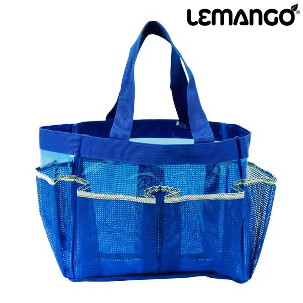 르망고 SNS BAGS_RECTANGLE 메쉬백-LSMB014-BLUE