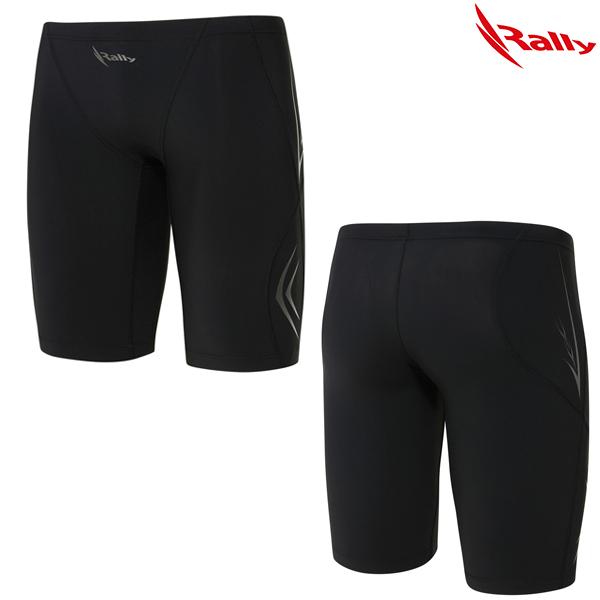 LSMH047-BLK 랠리 RALLY 남자 5부 수영복