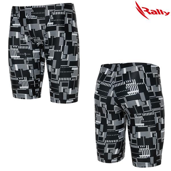 LSMH050-BLK 랠리 RALLY 남자 5부 수영복