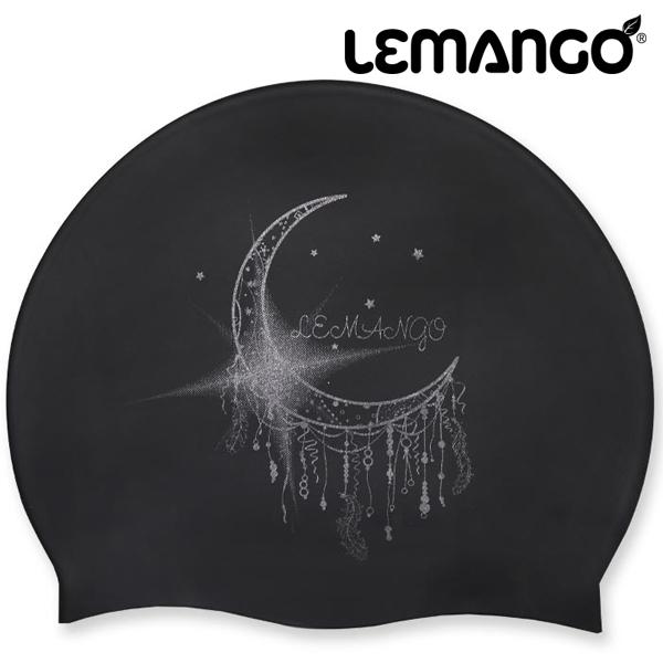 LSSC0122-BLACK 르망고 실리콘 수모 수영모