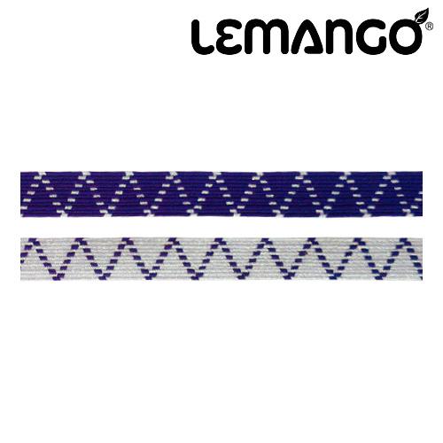 르망고 Zigzag Strap Mix (Purple) 수경끈