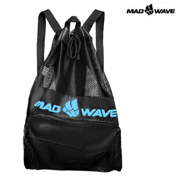 VENT DRY BAG-BLACK MAD WAVE 메쉬 백팩 가방