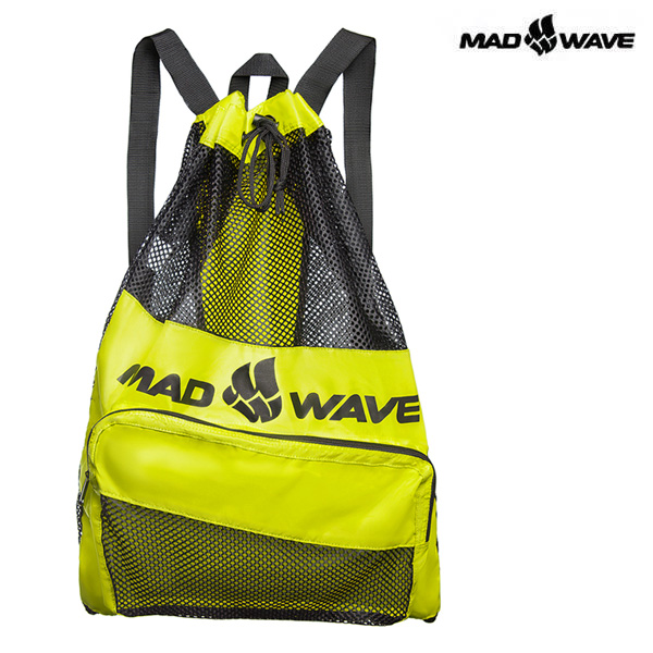 VENT DRY BAG-GREEN MAD WAVE 메쉬 백팩 가방