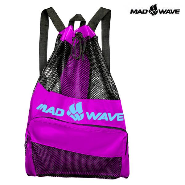 VENT DRY BAG-PURPLE MAD WAVE 메쉬 백팩 가방