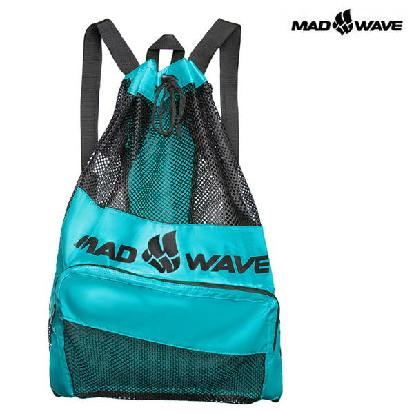 VENT DRY BAG-TURQUOISE MAD WAVE 메쉬 백팩 가방