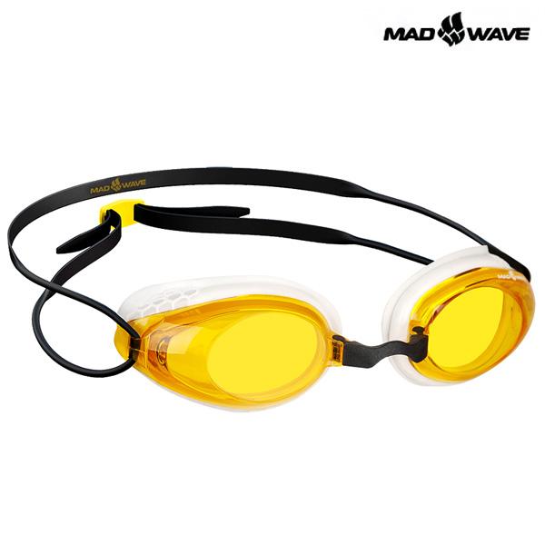 HONEY-YELLOW MAD WAVE 패킹 노미러 수경