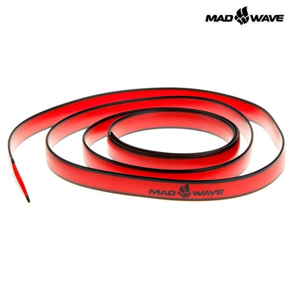 ADDITIONAL STRAP-RED MAD WAVE 실리콘 수경끈 수영용품