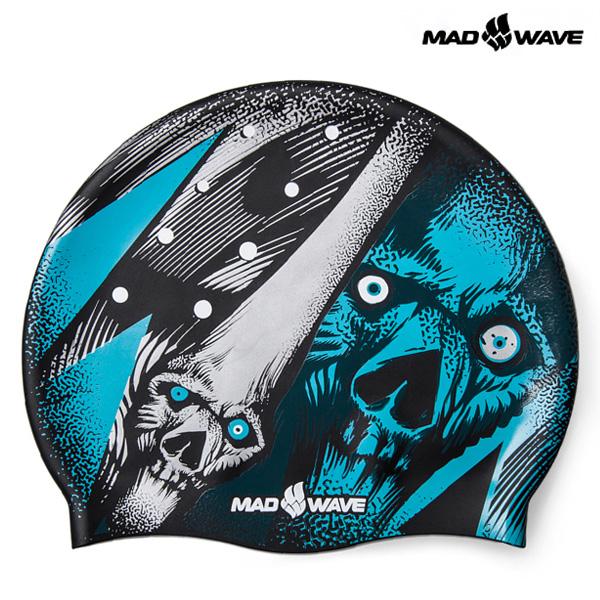 PHANTOM-TURQUOISE MAD WAVE 실리콘 수모 수영모