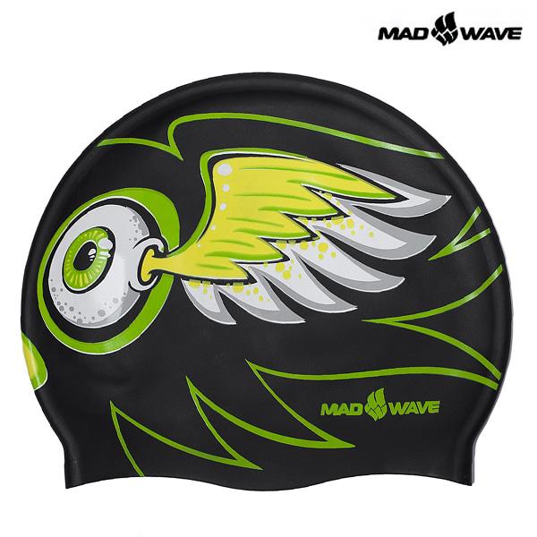 EYE FLY-BLACK MAD WAVE 실리콘 수모 수영모
