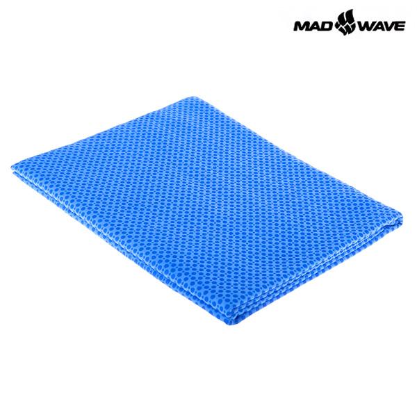 TOWEL SPORT-BLUE MAD WAVE 수영 타올 수건