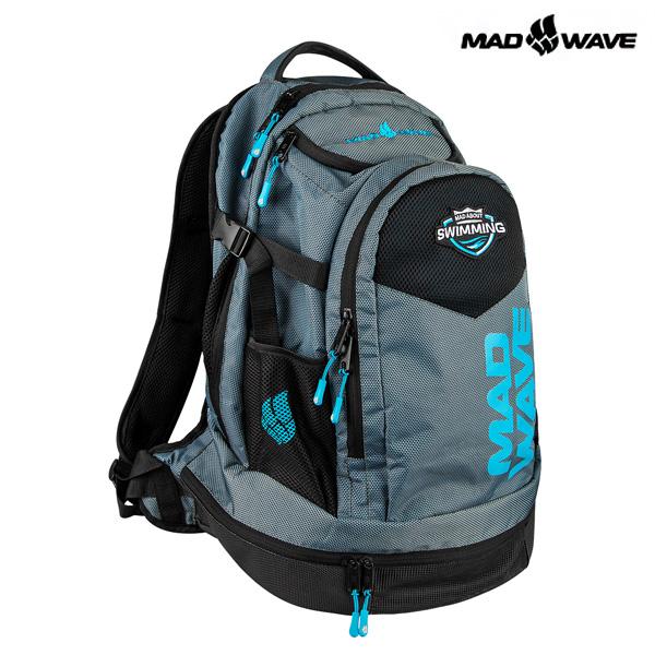 LANE-BLACK MAD WAVE 가방 백팩